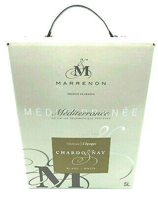 TOP Weißwein im BIB, Chardonnay aus der Provence, 5-Liter Bag-in-Box