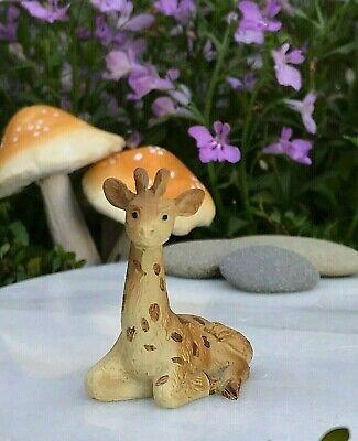 Miniature FAIRY GARDEN Terrarium Accessories ~ Mini SAFARI Animal GIRAFFE - Mini Fairy Garden