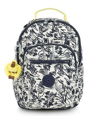 Kipling SEOUL GO S Small Backpack - Scribble Fun Bl