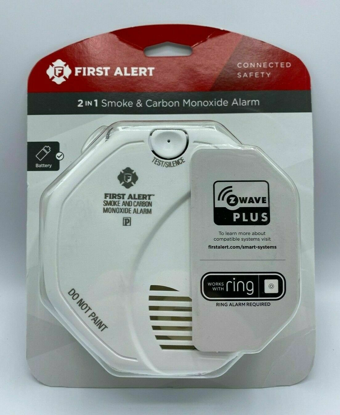 First Alert Z-Wave Plus Smoke and Carbon Monoxide Alarm - Ba