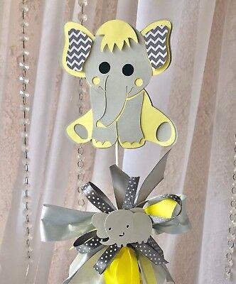 Yellow elephant/elephant baby shower/elephant yellow and gray/elephant party