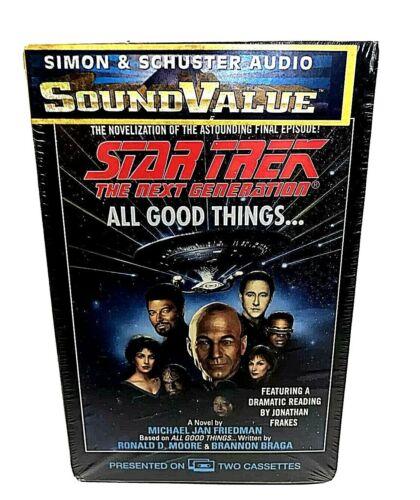 "Star Trek Next Generation ""All Good Things"" Audio Book  Read by Jon Frakes New"
