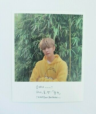 """Stray Kids SEUNGMIN Official Photocard - Official New Album """"GO生"""" / Limited Ver"""