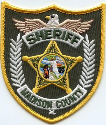 MADISON COUNTY FLORIDA FL SHERIFF POLICE PATCH