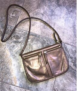 Rose Gold Fossil Purse