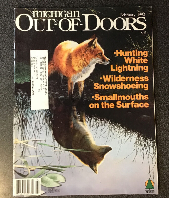 MICHIGAN OUT-OF-DOORS Magazine February 1992