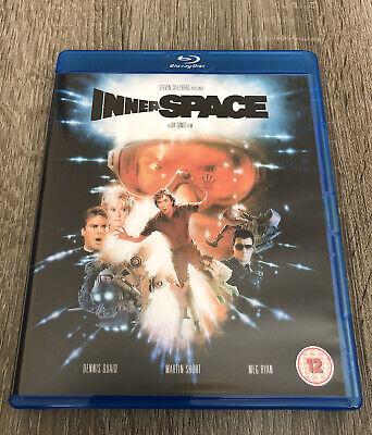 Innerspace (1987) Blu Ray, Dennis Quaid, Martin Short, Meg Ryan