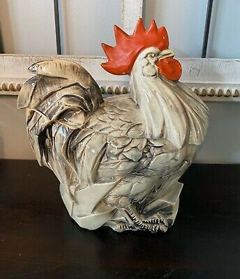 VINTAGE ROOSTER COOKIE JAR (?MCCOY)