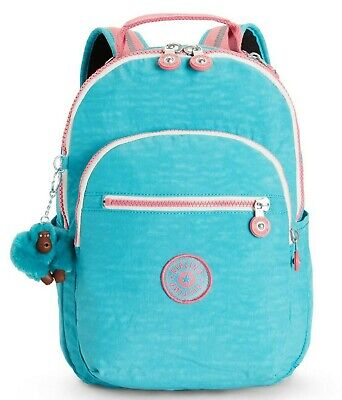 Kipling SEOUL GO S Small Backpack - Bright Aqua C