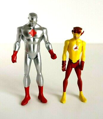 stice Captain Atom And Kid Flash Action Figure 3.75