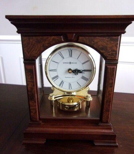 Howard Miller Statesboro Mantel Shelf Westminster Chiming Clock 635-167