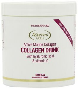Higher Nature Æterna Gold Collagen Drink 80g Granules