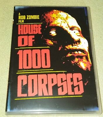 House Of 1,000 Corpses DVD Rob Zombie *Halloween *Horror (Halloween Rob Zombie 1)