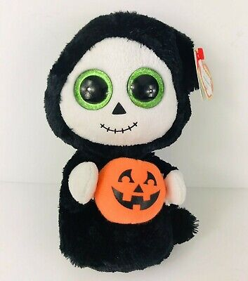 Ty Beanie Boos - TREATS the Halloween Ghost / Ghoul (6 Inch) with Tags Near Mint