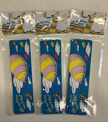 24 (3 pk / 8)  bookmarks Dr. Seuss teacher reward party favor reading