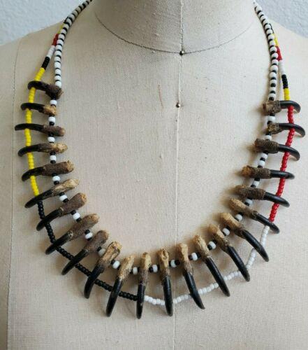 Native American Replica Claw Necklace