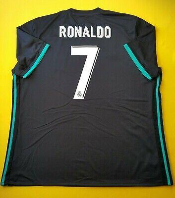 25ab2d1d769 4.9 5 Ronaldo Real Madrid jersey 2XL 2018 shirt BR3543 football Adidas ig93