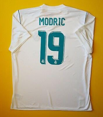 bb815c29401 5+ 5 Modric Real Madrid 2XL jersey 2017 2018 home shirt AZ8059 soccer Adidas
