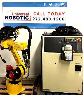 Fanuc Robot Arcmate 100ib M6ib Rj3ib Welding Industrial Robotic With Lincoln 455