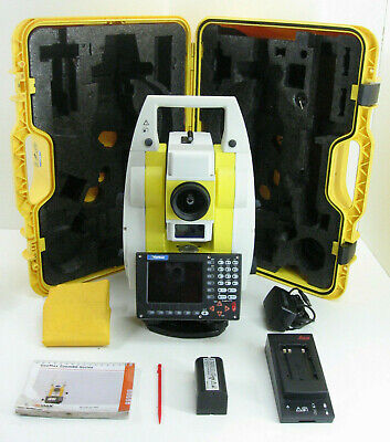 Leica Geomax Zoom80 Carlson Cr2 2 Prismrless Robotic Total Station Fo Surveying