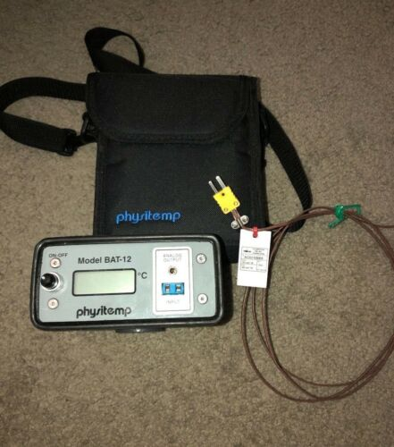 Physitemp BAT-12 Microprobe Thermometer & Thermocouple