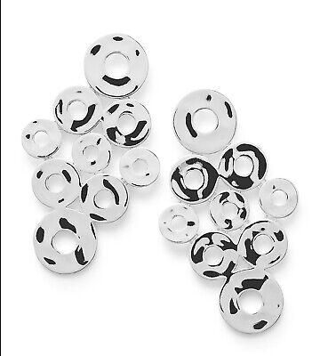 Ippolita Sterling Silver 9-Circle Cascade Earrings