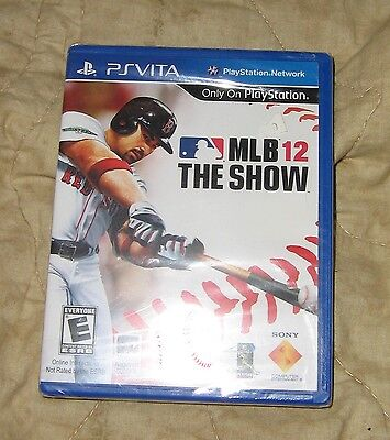 MLB 12: THE SHOW - PSVITA - SONY PLAYSTATION NETWORK - 2012
