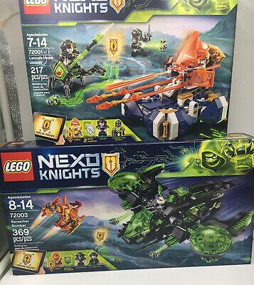 New Lot LEGO 72001 & 72003 Nexo Knights