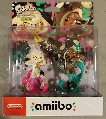 Nintendo Amiibo   Pearl   Marina 2 Pack Splatoon   Ship In Box   Asap