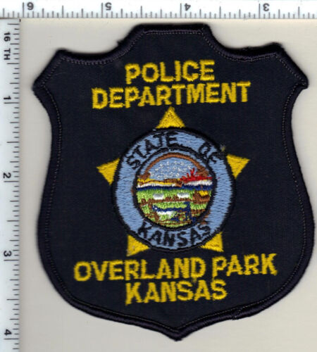 Overland Park Police (Kansas) Shoulder Patch - old style from 1997