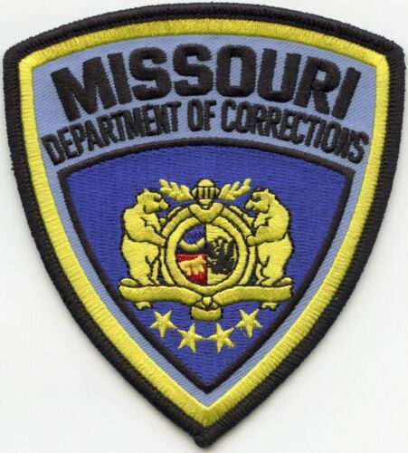 MISSOURI MO STATE DEPARTMENT OF CORRECTIONS DOC sheriff police PATCH