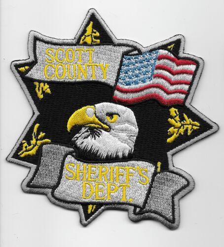 Scott County Sheriff State Missouri MO Eagle & Flag