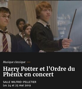 Harry Potter and the Order of the Phoenix Concert
