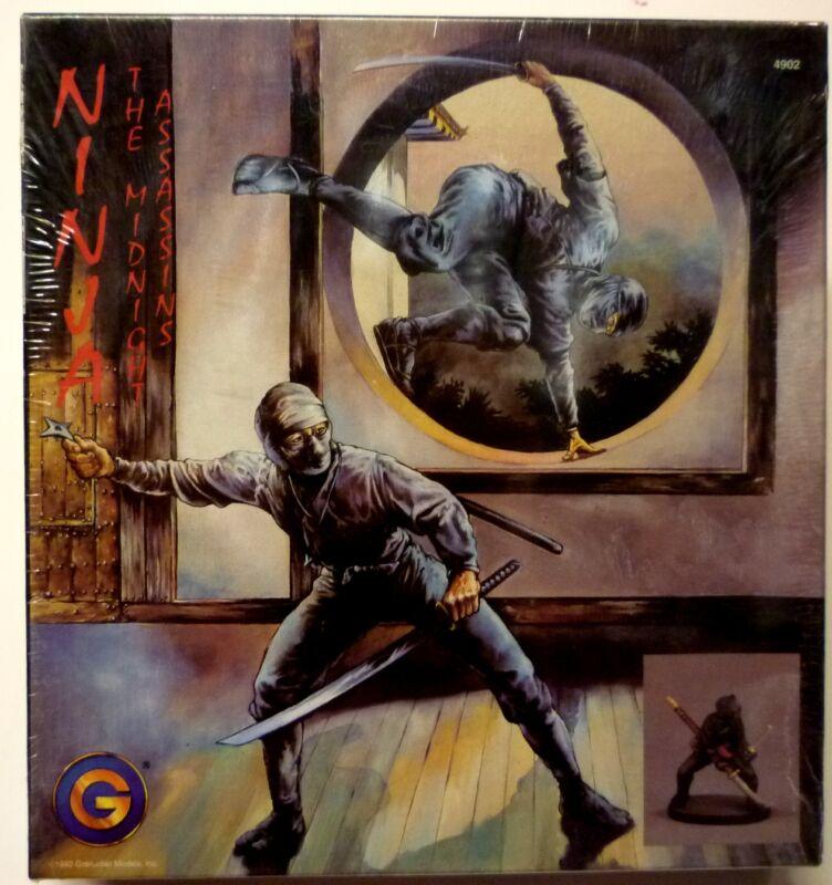 Grenadier Models Ninja:The Midnight Assasins Sealed Set of 10 Metal Figures 1992