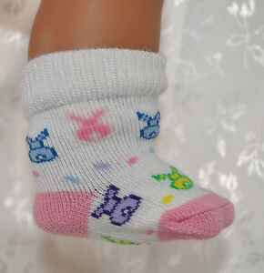 """Socks Doll Clothes 17 Baby Born 18"""" OUR Generation Journey"""