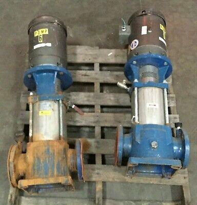 Goulds Gl Vertical Booster Pump 6svbk2 150 Psi W Baldor 10 Hp Motor