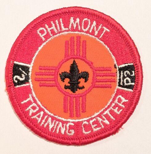 Philmont Scout Ranch Boy Scouts PTC Philmont Training Center patch plastic gauze