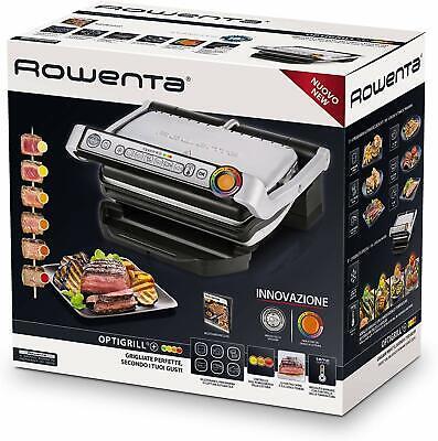 Rowenta Optigrill+ - Parrillas eléctricas de contactoRectangular, Sensor, Grid