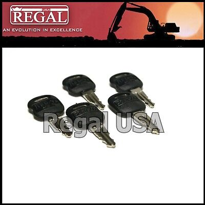 5 5p8500 Ignition Key Old Style For Caterpillar 5p-8500 0964753 0966198