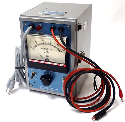 Associated Research 412 Hypot Junior Tester 120v Cps 14a Out 1.5kvac 5ma Tested