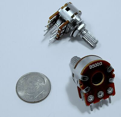 100 Ohm 2W Linear CLAROSTAT RV4 Potentiometer Tube Amplifier Hum Pot