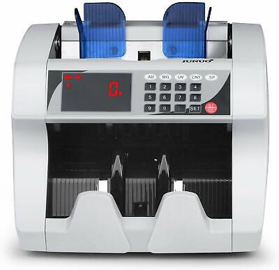 Money Counter Bill Cash Currency Counting Machine Uv Mg Counterfeit Detector