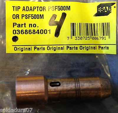 Tip Torch Adapter Psf 1640 512ft Esab Welding Original Parts 368 684 001