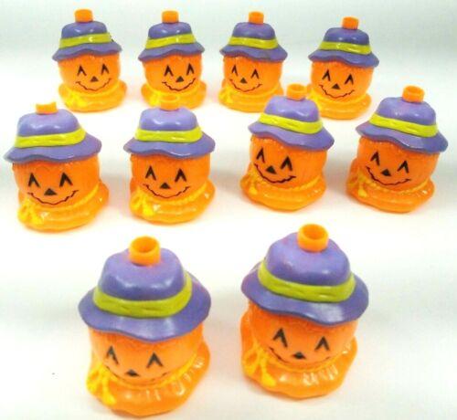Easter Unlimited Halloween Blow Mold Light Covers Pumpkin Vtg Lot Of 10 Booooooo