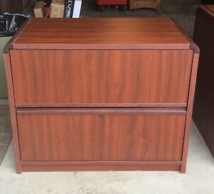 Desk, Credenza and Chir
