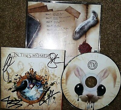 IN THIS MOMENT Dream CD SIGNED AUTOGRAPHED by ALL 5 Band Members!