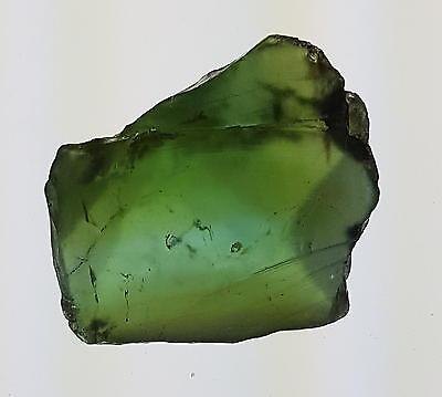 Echter guter Roh - Turmalin / Verdelith ( ca. 24,67 Carat ) 21,2 x 19,5 x 8,9 mm