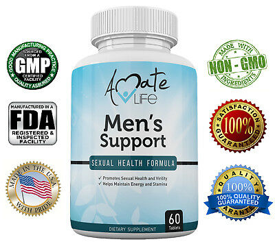 Men's Support Sexual Health Formula- Sexual Enhancement Dietary Pills for Men