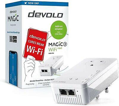 devolo Magic 2–2400 WiFi Next Additional add-on powerline Wi-Fi adapter