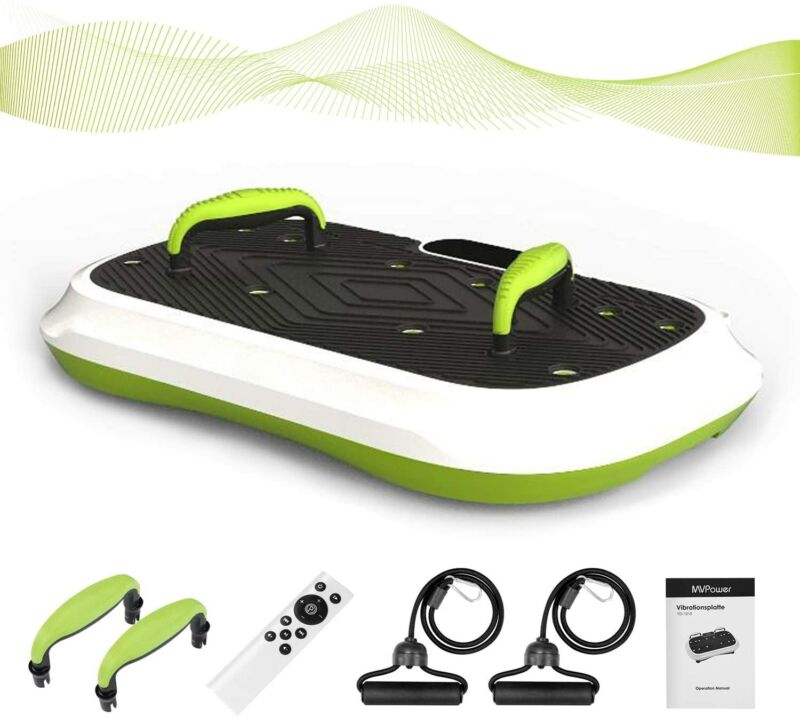 Vibration Platform Plate Whole Body Massager Machine Fitness Remote Control Slim